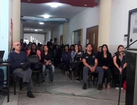 El coordinador de la actividad fue el concejal y profesor universitario, Héctor Medina