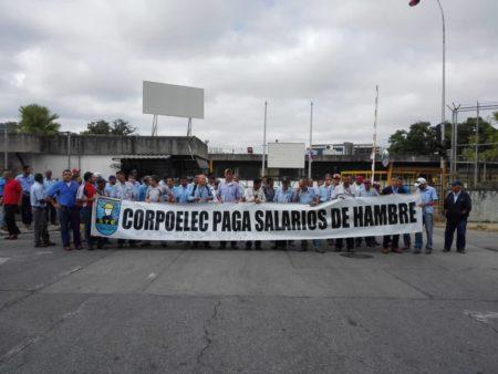 Inicia el paro nacional indefinido de los trabajadores eléctricos este #23Jul