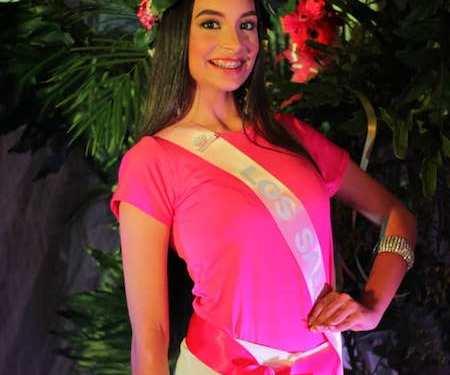 Daniela Rodríguez representará Los Salias en el Señorita Miranda 2018