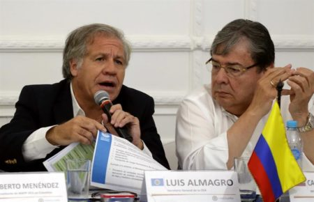 "Venezuela denunciará a Almagro ante ONU por ""promover intervención militar"""