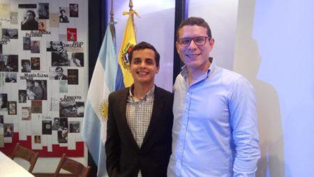 Alcaldía de Los Salias participó en jornada  académica organizada por la Embajada de Argentina