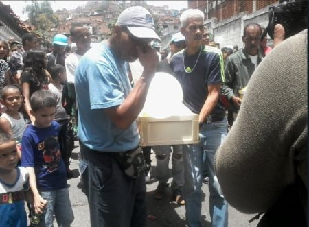 Foto archivo, asesinato de niños en El Valle
