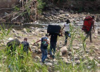 La guerra del hambre sobre el río Táchira