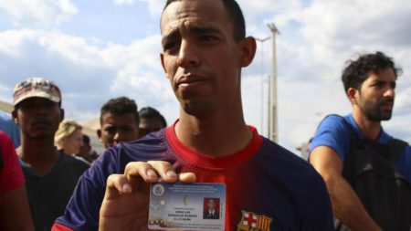 """""""Mis compañeros tienen miedo"""", dice desertor de Guardia Nacional Bolivariana"""