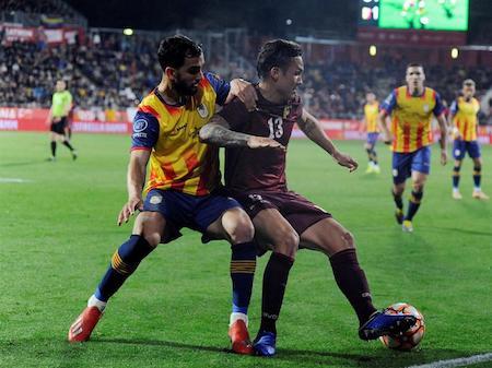 2-1. Venezuela cae ante la selección catalana en el último suspiro