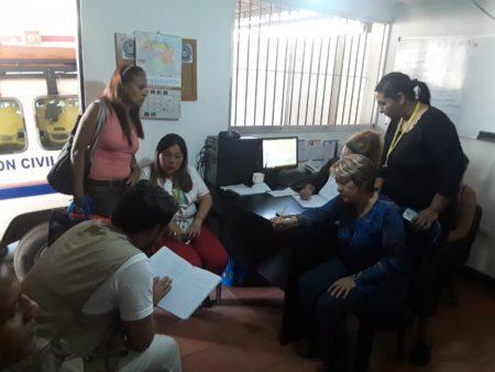 Sala situacional funciona en la sede de Protección Civil de Los Salias