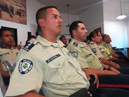 Policía como el municipio más seguro de Miranda