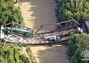 Puente que comunica al estado Miranda con el Oriente del país colapsó a la altura del sector Cúpira