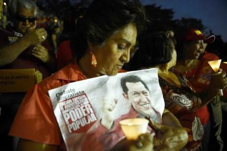 VENEZUELA-CHAVEZ-SUPPORTERS