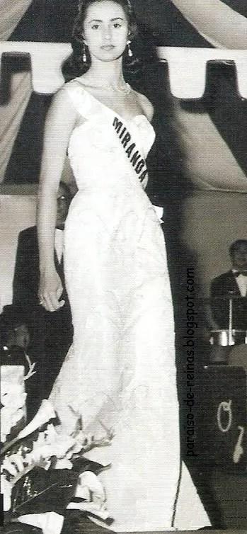 Miss Venezuela 1955, Susana Duijm