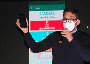 Fariit Fraija destacó que veCarrizal trabajará de la mano con los organismos de salud, seguridad y Protección Civil CORTESIA / PRENSA CARRIZAL
