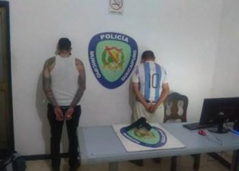 Los detenidos por Poliguaicaipuro