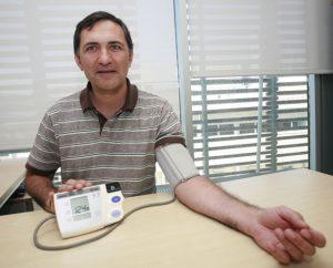 El profesor Roberto Elosua.