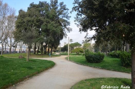 villa comunale viali laterali