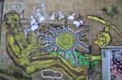 murales sulla pedamentina