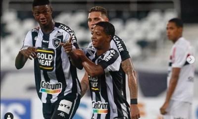 Botafogo vence São Paulo no Nilton Santos