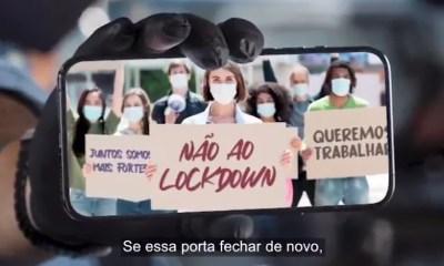 Empresários lançam campanha contra o lockdown