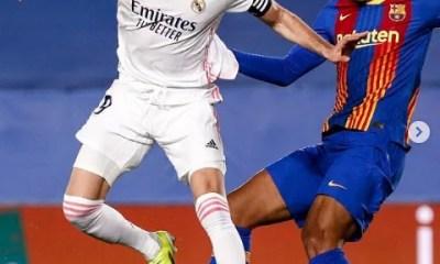 Real Madrid vence Barcelona e embola tabela do Espanhol