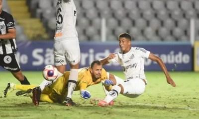 Santos vence a Inter de Limeira por 2 a 1