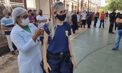 Covid-19: Guardas Municipais recebem primeira dose da vacina