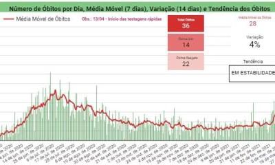 Piauí registra 1368 casos positivos e 36 mortes por Covid-19