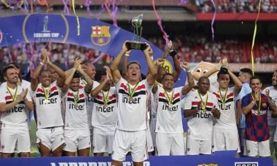 São Paulo vence Palmeiras e conquista Paulistão