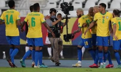Brasil goleia o Peru na Copa América