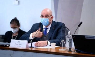 CPI do Senado ouve o deputado Osmar Terra