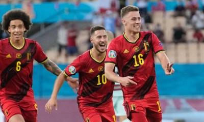 Bélgica vence com gol de Thorgan Hazard e elimina Portugal na Eurocopa