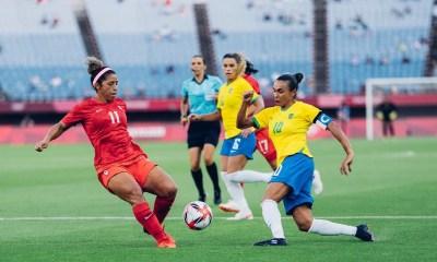 Brasil perde para Canadá nos pênaltis e está fora das Olimpíadas