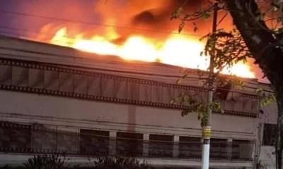 Incêndio atinge unidade da Cinemateca Brasileira