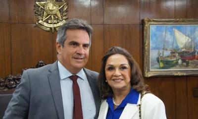 Eliane Nogueira, mãe de Ciro Nogueira, toma posse no Senado