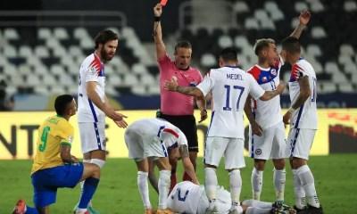 Gabriel Jesus é suspenso pela Conmebol e perde a final da Copa América