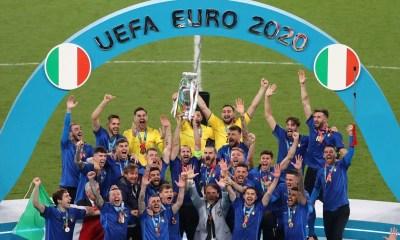Itália vence a Inglaterra e é bicampeã da Eurocopa