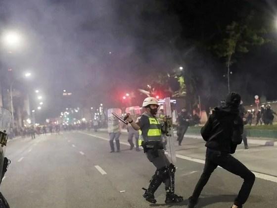 Ato contra Bolsonaro volta às ruas, mas com menor adesão