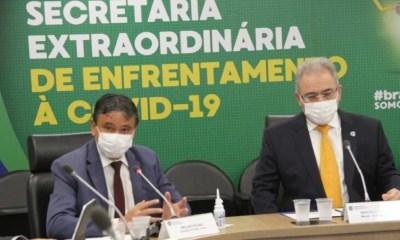 Governadores se reúnem com ministro da Saúde e cobram agilidade na entrega de vacinas