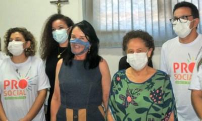 Adalgisa Moraes Souza e Regina Sousa se reúnem para implantar o Cartão Sasc Emergencial