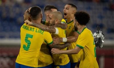 Brasil vence na prorrogação e é bicampeão olímpico no futebol