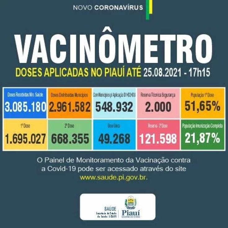 Idoso de Teresina é única morte do Piauí por Covid em 24h