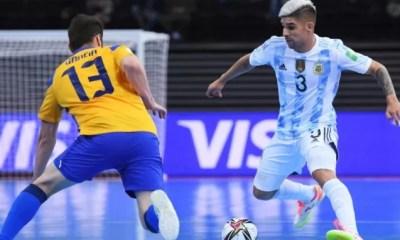 Argentina elimina Brasil e vai à final da Copa de Futsal