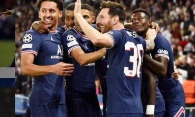 PSG vence o City com golaço de Messi