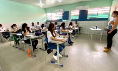 Piauí: Turmas do 3° ano do Ensino Médio retornam às aulas 100% presenciais