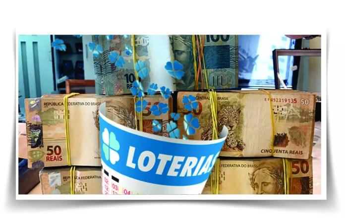 Loteria Federal / imagem montagem Ueslei Mendes de Souza
