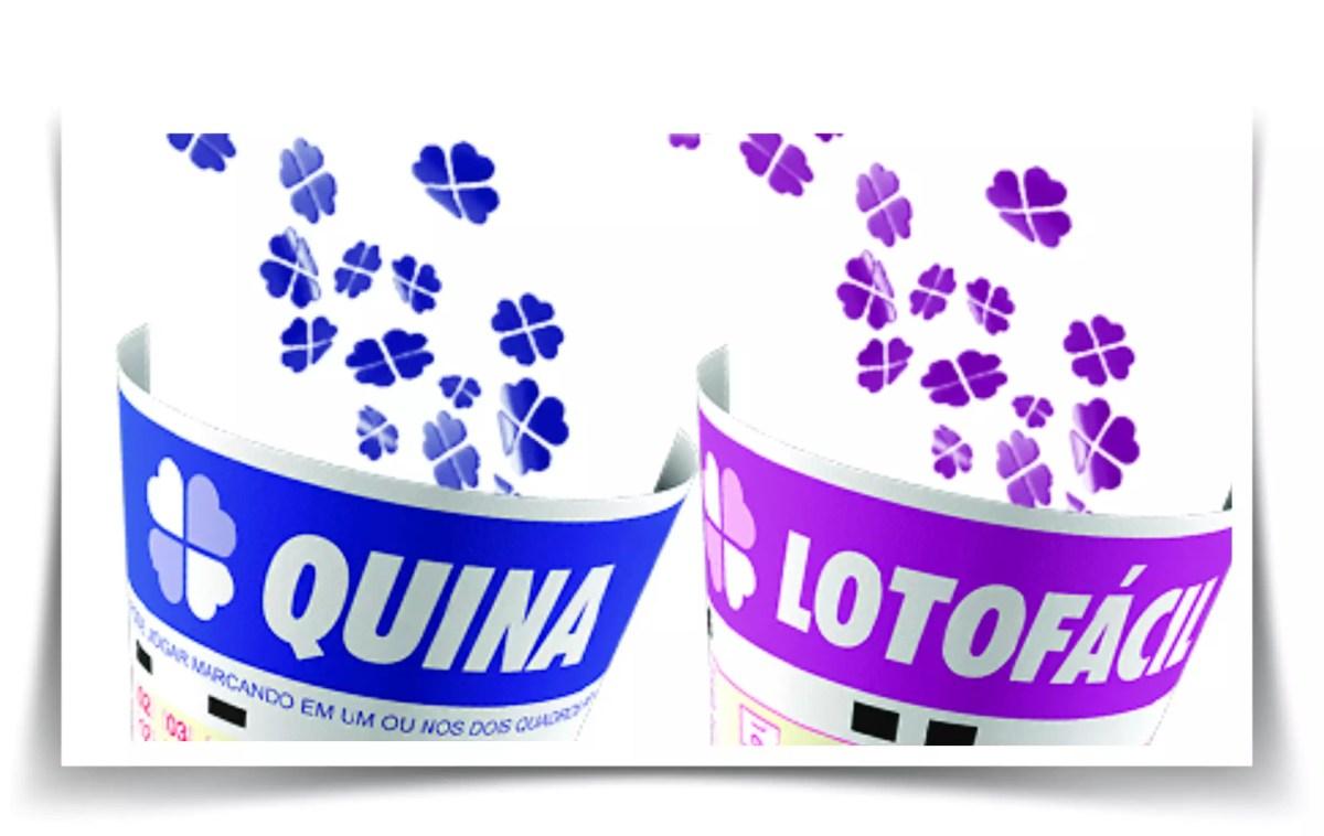 Resultado da Quina e Lotofácil: confira premiação dessas loterias desta sexta-feira 13 e 14 de julho