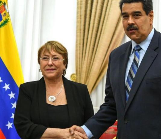 """Bachelet t dijo que el Gobierno de Maduro aceptó que su equipo ingrese """"a los centros de detención para poder monitorear las condiciones"""" (Foto fuente externa)."""