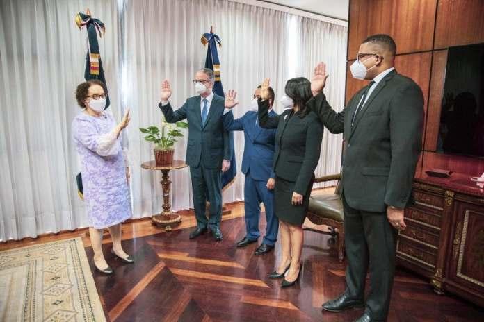 Miriam Germán juramenta nuevos miembros del Consejo Superior del Ministerio Público