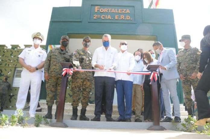Gobierno inaugura Fortaleza del Ejército Nacional en La Romana