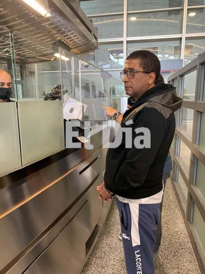 Antonio del Rosario Puente, Toño Leña, en migración de Estados Unidos,, a donde fue extraditado desde Colombia