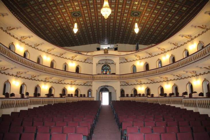 Remodelan teatro Nacional Manuel Bonilla en centro histórico de ...