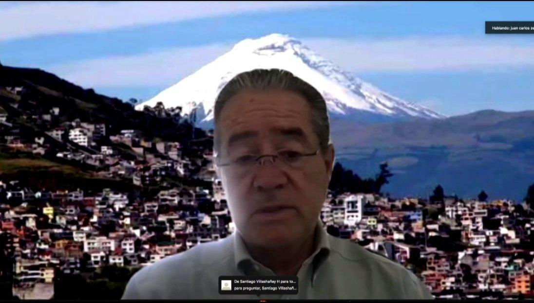 Ecuador registra primer caso con nueva variante de COVID-19